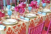 Tablescapes and Floral Inspiration  / My collection of inspiring floral arrangements and table decor concepts / by Jeanine Richards
