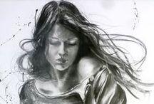 ✏️ en lápiz o en pincel / by Blue Brando