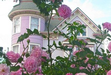 House Beautiful / A collection of beautiful Victorian homes, farmhouses, and cottages Follow me on Instagram@bloominginchintz. / by Rahna Summerlin