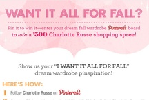I Want It ALL for Fall at Charlotte Russe / by DeKera Smith-Boyd