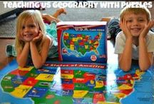 Homeschool- Geography / by Tami Anderson