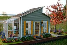 tiny homes... / by Karen Beck
