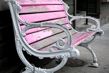 benches / by deb heather