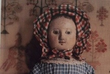 Rag/Antique Izannah Walker Doll + / by deb shockley