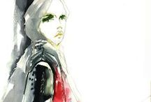 Fashion Illustrations / a variety of drawings and illustrations 