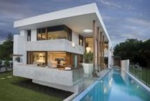 Architecture Modern Houses / All kind of interesting architecture of modern houses can be found here. / by Sarah Solari