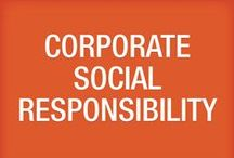 Corporate Social Responsibility / Learn more at ddr.com/csr / by DDR Corp.