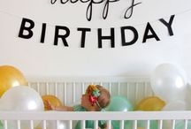 First Birthday Ideas / by Lexie Mullis