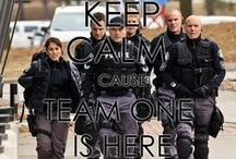 Flashpoint Team One / My favorite TV show EVER.  Indescribable.  LOVE my DVD box set!  Love everyone involved! / by Chelsea S
