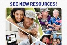 Military Resources / You or your loved one has been of service to the country--now let us be of service to you. Take advantage of these special resources for you and your military family. / by Operation In Touch