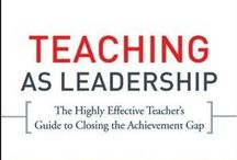 School Leadership / These books will be helpful to develop teacher-leaders / by Charles & Renate Frydman Educational Resource Center