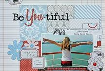 Scrapbook Layouts/Cards / by Michele Dell