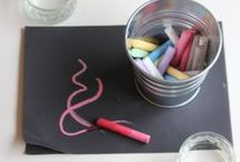 Art & Craft for the Littles / Open-ended art & craft projects for kids. / by Steph :: Modern Parents Messy Kids