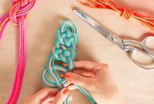 Friendship Bracelets Plus... / DIY bracelets, necklaces, and more! / by Steph :: Modern Parents Messy Kids