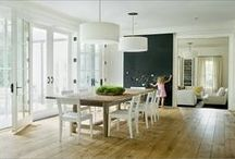Dining Room / Dining room inspiration. / by Steph :: Modern Parents Messy Kids