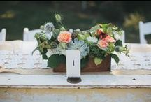 Wedding Tablescape / by Robin Budd
