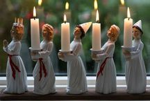 ~Christmas ~ Advent & St. Lucia~ / ~Polite pinning is appreciated. Thank you.~ / by A Hans