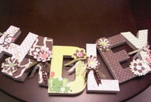 Paper Arts - Altered Letters / by Azilorchids