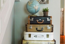 Vintage luggage / by Vicky Stanton