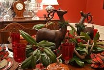 CHRISTMAS TABLESCAPES / by Debbie Desiderio
