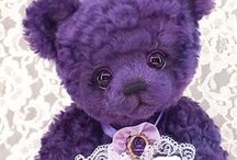 Plush Bears Including Bearington, Steiff, Boyds, Gund, Christy Bears, Ganz, OOAK, and more / Old and new bears.  Three O'Clock Bears, Lesbears, Teddy Kingdom, Rica-Baer, Charbears, Avateddy, Bearpile, Plushbub. I plan to add my Boyd's plush bears later. / by Leola Hays