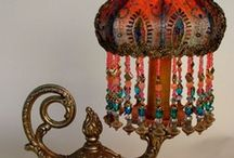Luxurious Old & New Lamps / Lamps of all Kinds, mostly old, Chandeliers too / by Leola Hays
