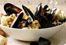 Shellfish / Shrimp, Lobster, Crab, Scallops, Mussels, Clams, and Oysters!  / by The Sustainable Seafood Blog Project