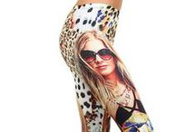 Laser Print Collector Leggings / Fabulous high quality and high detail leggings that will give your leg fashion wardrobe an amazing new look.  / by Only Leggings