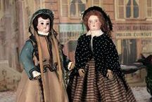 French Fashion Dolls / The queens of the doll world at their height 1860s - 1870's / by Kim Hayes
