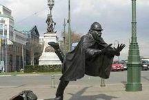 Statue sculpture / by R, Kajiki