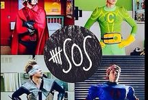 5sos !!!!! :-) / Is it hi or hey? I luv 'em so much. just gonna say I luv 'em as much as pizza, since that is a lot  / by Amelia Knight 🐧
