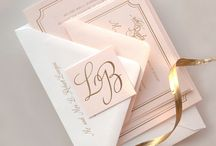 Papeterie - Wedding / by Anke H
