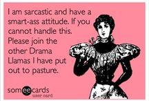 fluent in sarcasm / by Raquel Varela