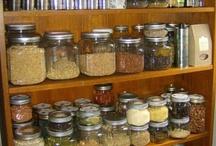 Stocked Kitchen Pantry / by Caroline