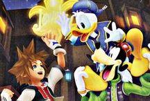 Kingdom Hearts / by Rebecca Martinez