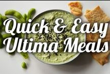 Quick & Easy Ultima Meals / On the go and need quick and healthy meals? We've got you covered! Try our 10 minute meals today.  / by Ninja Kitchen