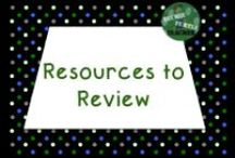 Resources to Review / by TechieTurtleTeacher