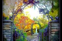 GATES, DOORS... / by Kaylynn Jondreau