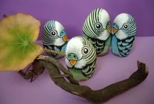 Inspirations for Animals and bugs Rocks, stones and pebbles / by Julie Anderson