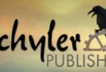 The X on the Net / Social media and other websites where one can find Xchyler Publishing / by Xchyler Publishing