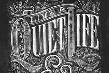 Script & Handmade Typography / by Jean-Philippe Cabaroc
