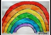 Rainbow Projects for Kids / The best rainbow art, craft, learning, play, recipes, and activities for kids! / by Chrissy Watson   Outlaw Mom