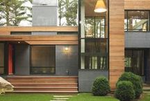 Modern houses / by Erica Moses