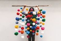 colour + thread / Ideas for pompom projects / by Diagrammable