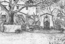 Spanish Colonial Revival - Exterior / by Andreas Dudda