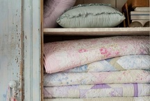 Shabby Chic Bedding & Quilts / by u2 fan