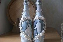 Botellas decoradas 2 / by vitoma