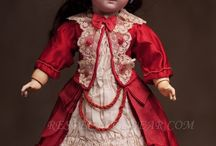 antique dolls and costume ideas / by iris vail