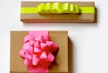 Gift Wrapping Ideas / by Elizabeth Rosado