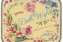 vintage printables, labels and advertisements / by gulben engiz